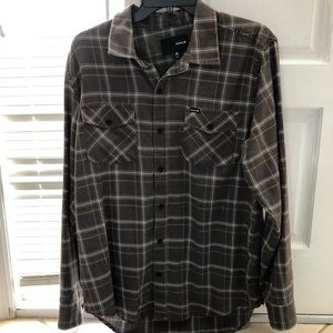 Men's Hurley button up
